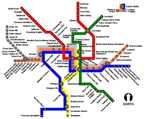 metro map metro expansion to dulles