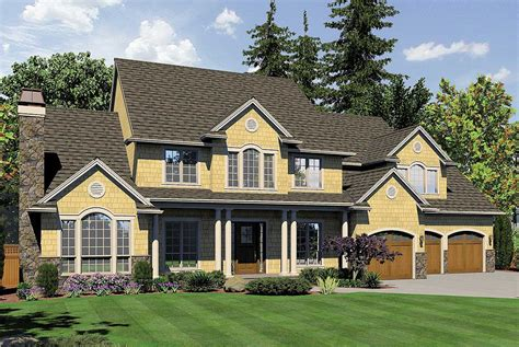 northeastern shingle style home plan 69457am northeastern shingle style home plan 69456am