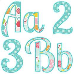 applique letters template summer applique alphabet stencils