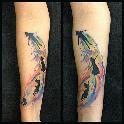 watercolor tattoo after time pin by steffi on ideen search flying