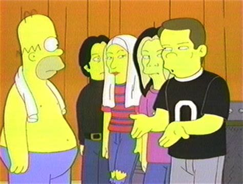 Kaos Ac396 The Smashing Pumpkins curse of the simpsons