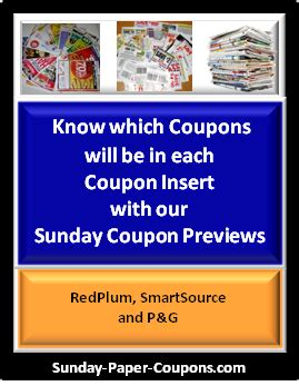 sunday preview coupons 6/28/15