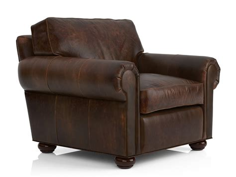 Restoration Hardware Leather Chair by Lancaster Leather Chair 3d Model Restoration Hardware