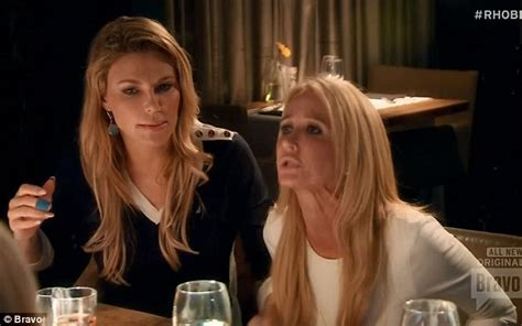 the secret about lisa rehners husband entertaining meal brandi glanville looked on as kim