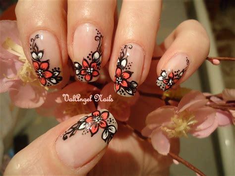 design flower nail art nail art designs trends for short long nails 2013
