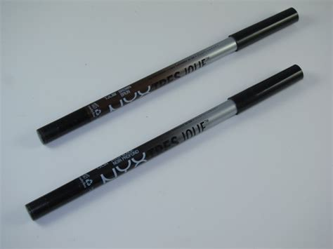 Eyeliner Nyx Gel nyx tres gel pencil liner review swatches musings of a muse