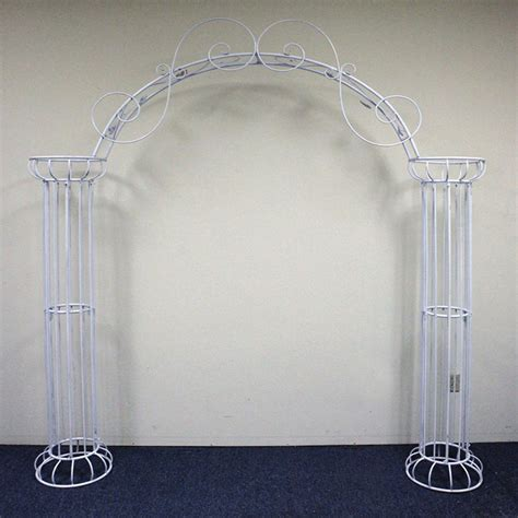Wedding Arch And Columns by Beautiful Wedding Arch Display Column