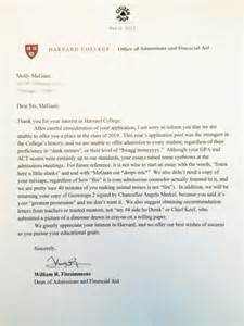 College Acceptance Letter When Do You Get A Thank You Letter To The College I Didn T Get Accepted To