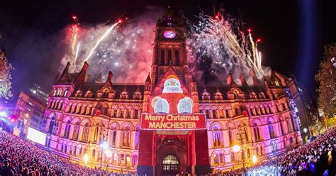 manchester christmas lights switch on 2016 dates location
