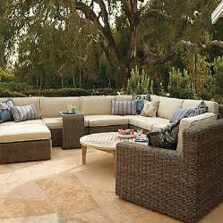 Patio Seating Hyde Park Modular Seating Set Contemporary Outdoor