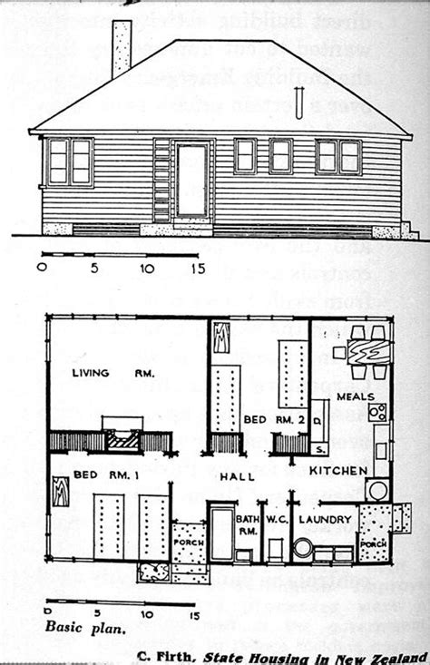 Architecture Archive The University Of Auckland Library Large House Plans Nz