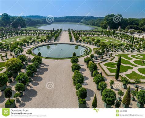 giardino di versailles giardino di orangerie palazzo di versailles fotografia
