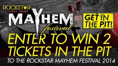 Atlanta Sweepstakes - rockstar mayhem festival sweepstakes atlanta rockstar energy drink