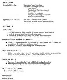 Writing My First Resume What Do I Write On My First Resume