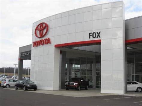 Toyota Clinton Tn Fox Toyota Scion Clinton Tn 37716 6634 Car Dealership