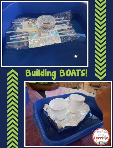 floating boat stem project what s going on in science class boats teachers are