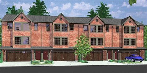 4 plex plans triplex house plans 4 plex plans quadplex plans