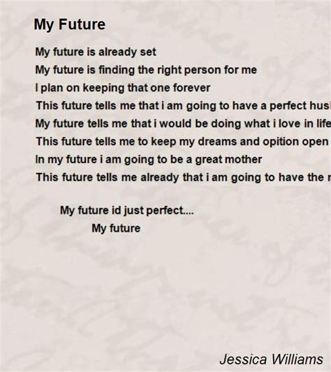positivepsychthings poetry from the future books my future poem by williams poem