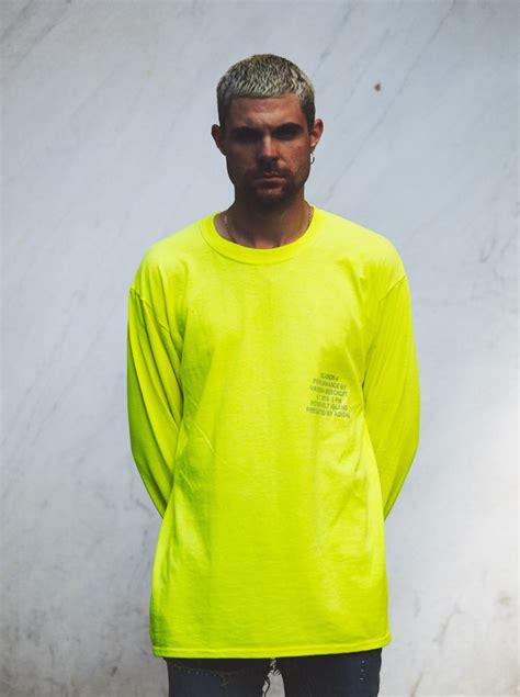 russell westbrook wears yeezy season  merch yellow long