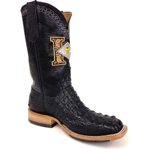 crocodile boots black crocodile boots harris leather silverworks