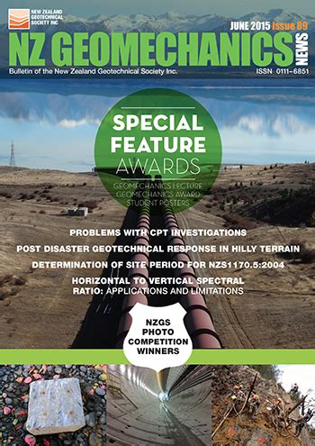 issue 89 – june 2015 – new zealand geotechnical society