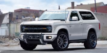 Ford Broncos What Will The New Ford Bronco Look Like Gas 2