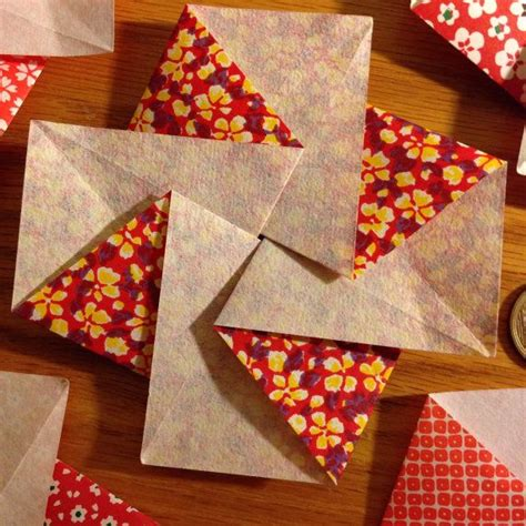 Origami Envelope Flower - 248 best kamon ori and tato images on origami