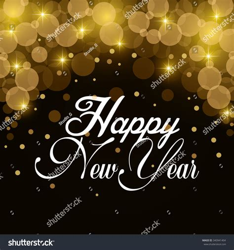 new year 2016 graphic design happy new year 2016 graphic design stock vector 340941404