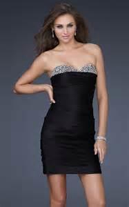 Tight Black Formal Dress La Femme 16937 Tight Prom Dresses For Sale