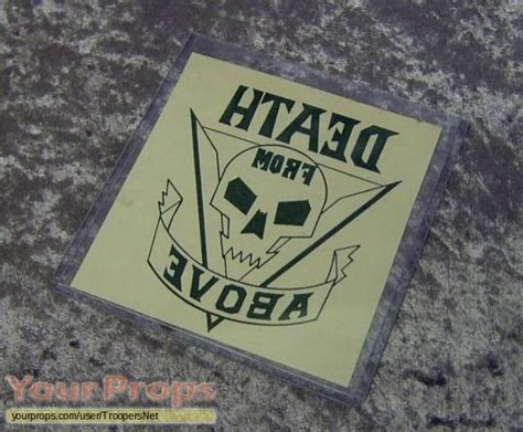death from above tattoo starship troopers from above original prop