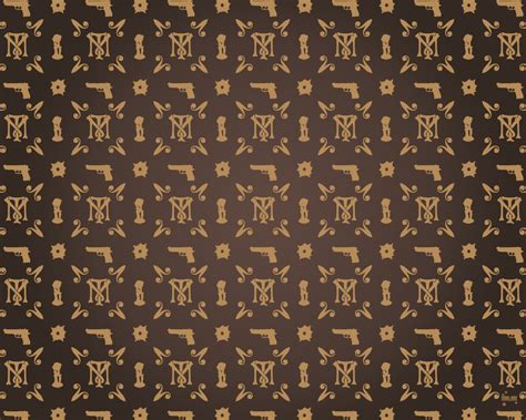 lv lost pattern tony montana style louis v by thecarloos on deviantart