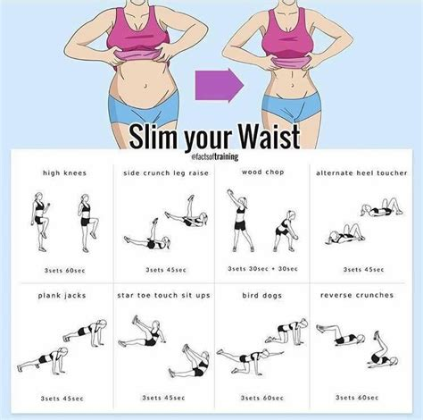 thin the waist bod pooch workout exercise workout