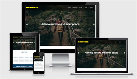 skeleton responsive template 100 free html5 responsive bootstrap template in 2017