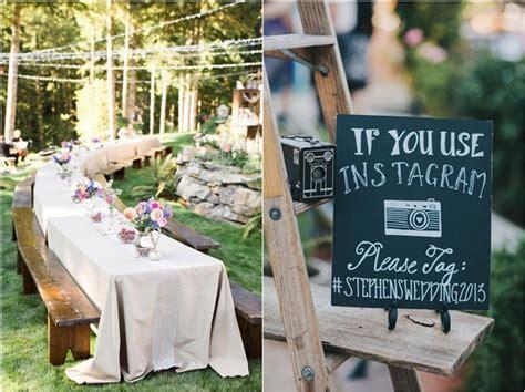 35 Rustic Backyard Wedding Decoration Ideas   Deer Pearl