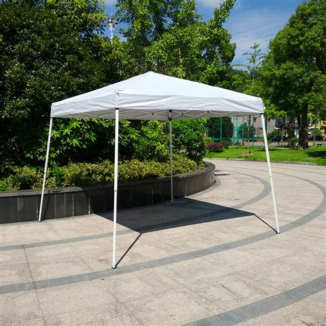 pop up boat canopy 10 x 10 ez pop up wedding party patio tent folding gazebo