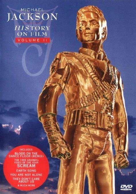 michael jackson biography dvd michael jackson history on film volume ii 1997 dvd
