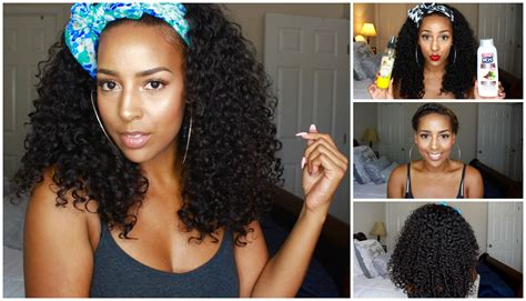 wash leave wavy hair how i wash and maintain my curly wigs brazilian curly
