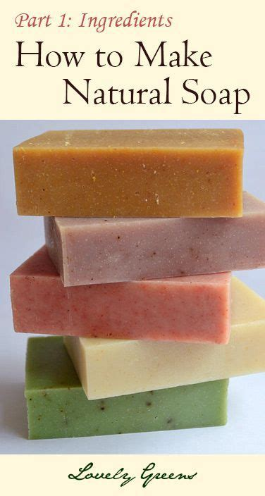 diy how to make natural soap for beginners home crafts