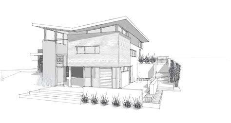 simple architectural drawings awesome modern home