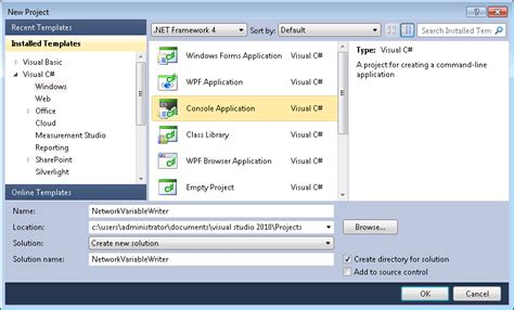 design web form in visual studio 2010 walkthrough creating a measurement studio application