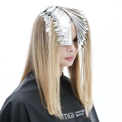 placement of highlights using cap 297 best foils images on pinterest hair color hair