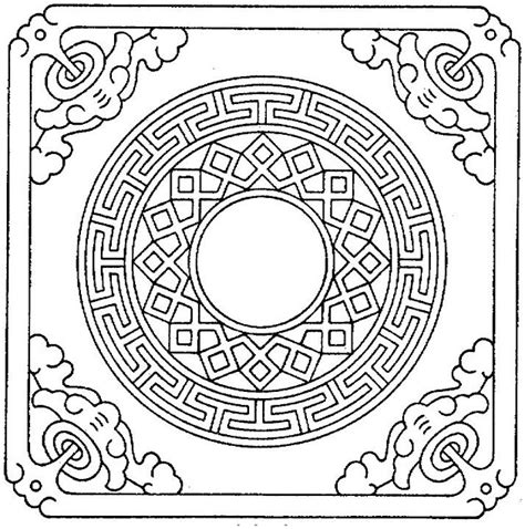detailed geometric coloring pages to print geometric coloring pages on school category gianfreda net
