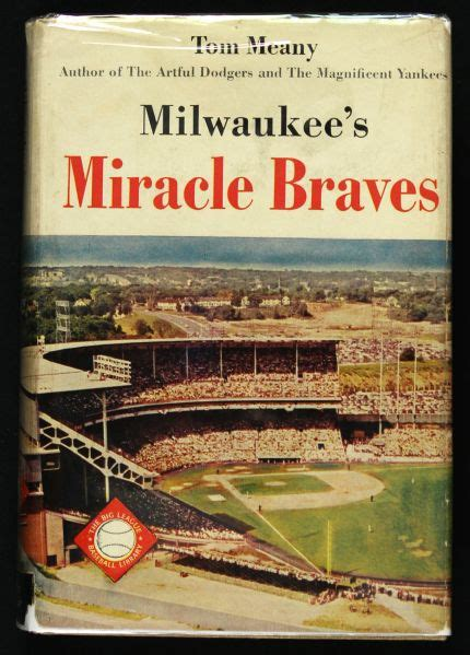 The Miracle Season Book Lot Detail 1954 Johnny Logan Milwaukee Braves Signed Quot Milwaukee S Miracle Braves Quot Hardcover