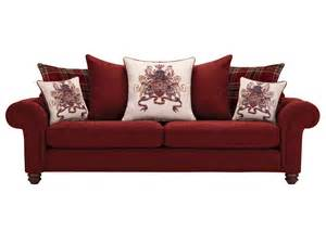 Extra Large Sofa Pillows by Sandringham Extra Large Pillow Back Sofa In Red With Red