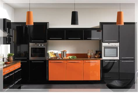 orange kitchen design the best features about the design and the plan