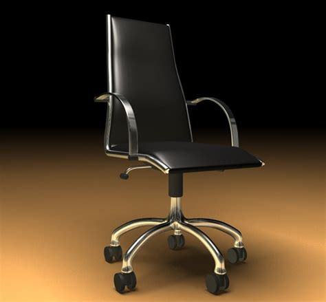 stuhl mã max 3d c4d office chair b 252 rostuhl