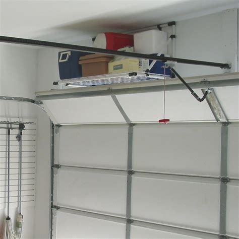 overhead garage shelving www imgkid the image kid
