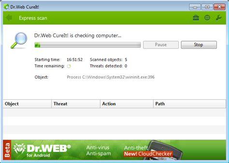 dr web dr web cureit 11 antivirus software fileeagle com