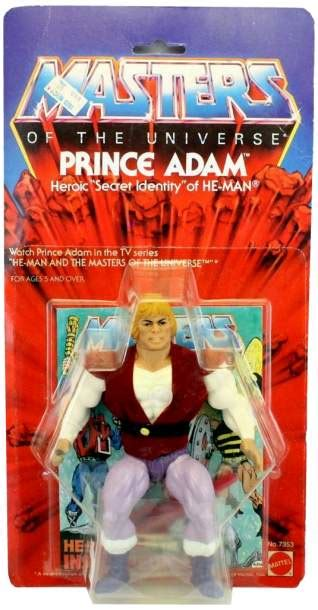 masters of the universe card template prince adam masters of the universe