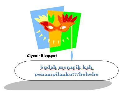 mendesain blogs kita supaya menarik cara mudah membuat mendesain tilan blog agar lebih menarik ciyoni blogspot